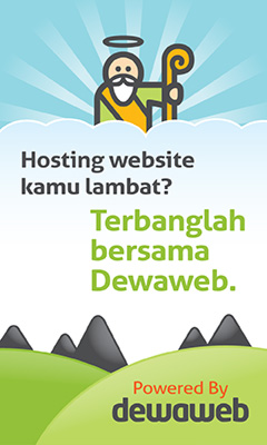 Dewa Web Hosting dan domain yang dipercaya